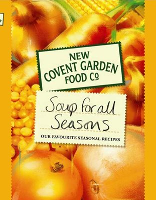 Book cover for New Covent Garden Book of Soup for...